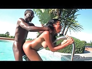 Big Tits Doggystyle Ebony Pool Teen