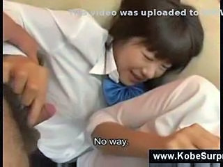 Asian Japanese School Strapon Teen Young