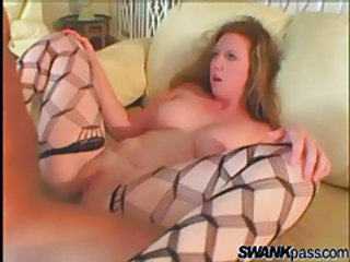 Chubby Fishnet Stockings Teen