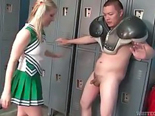 Cheerleader Pigtail School Teen Uniform