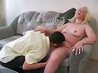 Homemade Licking Mom Old and Young