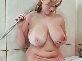 Bathroom Big Tits Chubby MILF