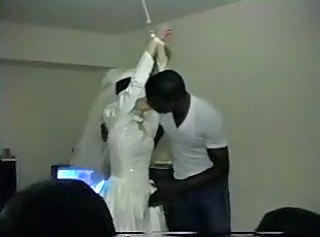 Bride Interracial Kissing Slave Wife