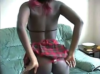 Amateur Ass British Ebony Panty