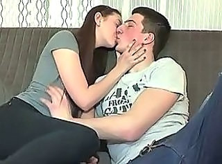 Kissing Russian Teen