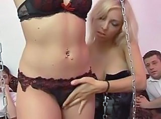 European French Groupsex Lingerie Orgy