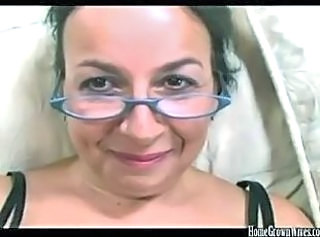 Glasses Mature Wife
