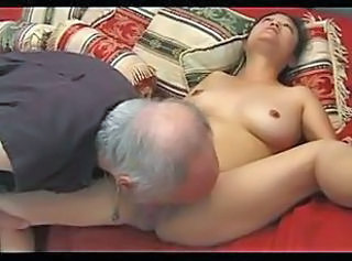 Mature Hairy Petite Japanese gets Fucked (Uncensored)