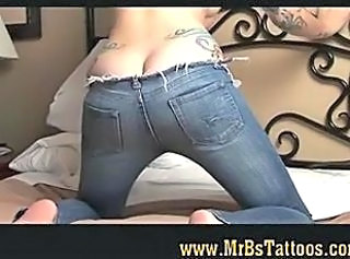 Ass Jeans Tattoo