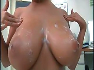 Amazing Big Tits Cumshot Natural Pornstar