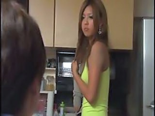 Asian Daughter Kitchen Teen