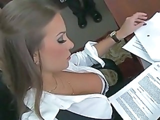 Amazing Cute MILF Office Secretary
