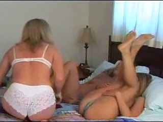 Bisexual Older Old and Young Strapon