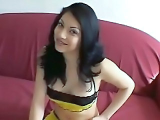 Brunette Cute Latina Pov Teen