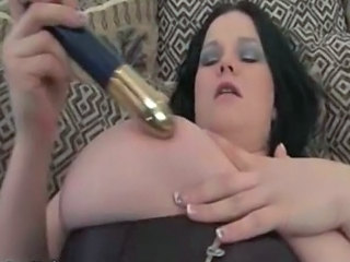 Big Tits Corset Dildo MILF Nipples Toy Wife