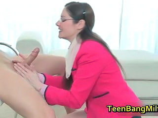 Blowjob Glasses Teen