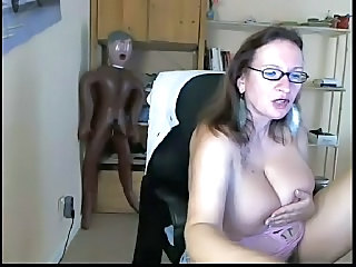 Big Tits Glasses MILF Natural Solo Webcam