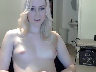 Blonde Small Tits Solo Teen Webcam