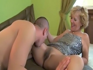 Hairy Licking Mature