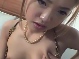 Hot Asian gal in hardcore team fuck!