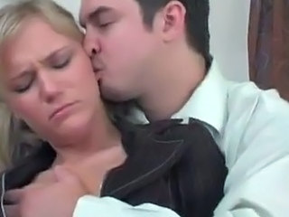 Kissing Office Teen