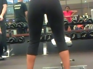 Ass working out