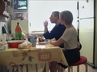Kitchen MILF Russian