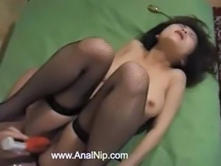 Asian Hardcore Korean Stockings Teen Toy