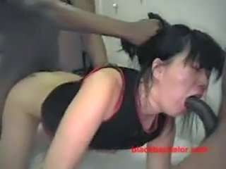 Asian Doggystyle Gangbang Hardcore Threesome