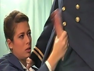 Handjob MILF Uniform