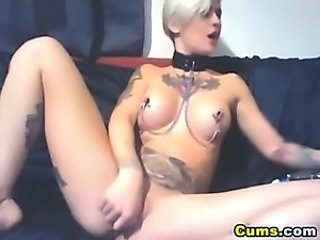 Goth Masturbating Tattoo Teen Webcam
