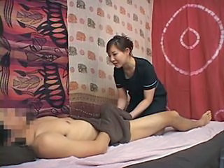 Asian Homemade Japanese Massage