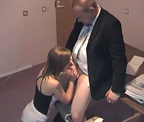 Amateur Blowjob Clothed Daddy Old and Young Teacher