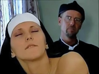 Uncertain Nun Takes Throbbing Cock