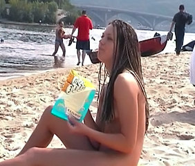 Beach Nudist Outdoor Public Russian Teen