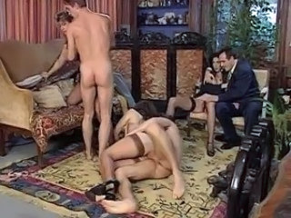 European German Groupsex Orgy Stockings
