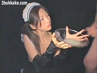 Asian Cumshot Japanese Maid Teen Uniform