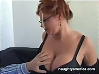 Big Tits Glasses MILF Teacher
