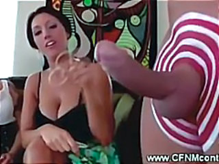 Big cock CFNM Facial Funny