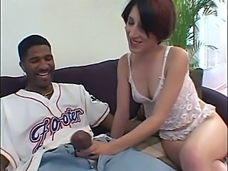 Big cock Handjob Interracial Lingerie Teen