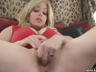 Amazing Big Tits Masturbating MILF Squirt