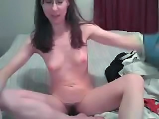 Hairy MILF Small Tits Solo Webcam