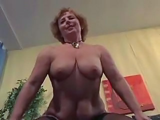 European German Mature Riding Stockings