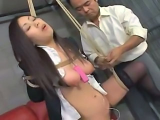 Asian Bondage Fetish Prison SaggyTits
