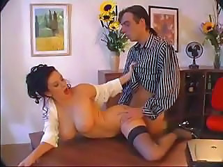 Big Tits Doggystyle Hardcore MILF Office Stockings