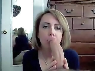 Big cock Blowjob Mom Pov