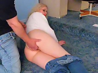Fisting Jeans Mature