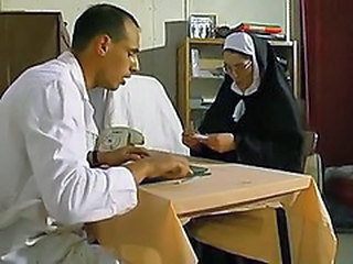 Doctor Glasses Mature Nun Old and Young Uniform Vintage