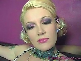 Amazing Blonde Cuckold MILF Piercing Pornstar Tattoo