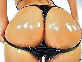 Amazing Ass Bikini Oiled